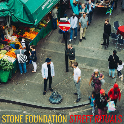 Stone Foundation: Street Rituals: Signed Clear Vinyl