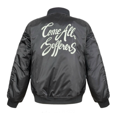 Gabriel Bruce: Come All Sufferers Embroidered Bomber Jacket