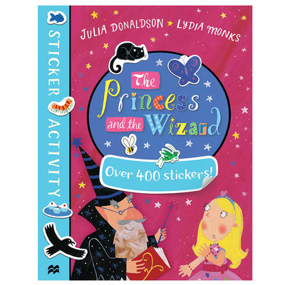 The Gruffalo: The Princess and the Wizard Sticker Book