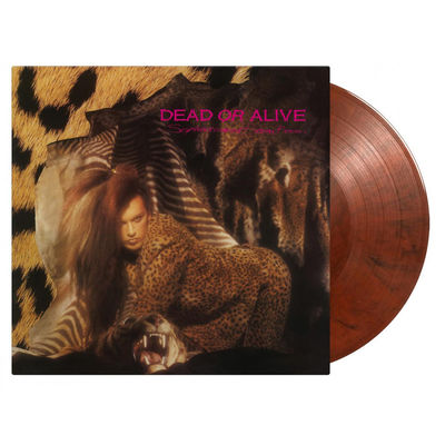 Dead Or Alive: Sophisticated Boom Boom: Numbered Orange Black Mixed Vinyl