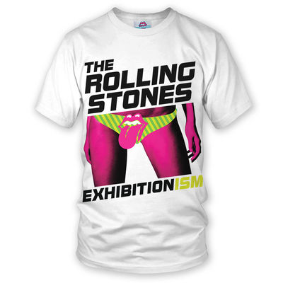 The Rolling Stones: Exhibitionism T-Shirt White