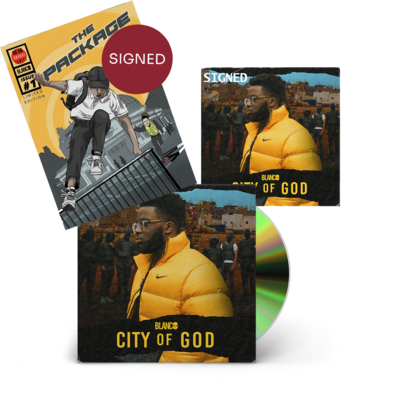 Blanco: *SIGNED* City Of God + The Package Comic