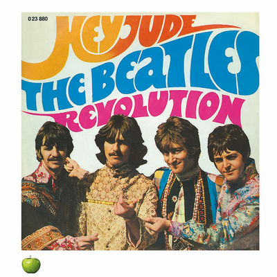 The Beatles: HEY JUDE LITHOGRAPH