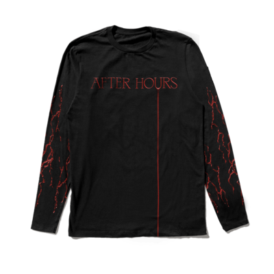 The Weeknd: AFTER HOURS BLOODWORK LONGSLEEVE