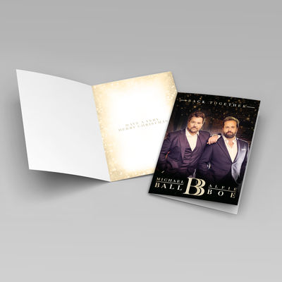 Michael Ball & Alfie Boe: Ball and Boe Christmas Card