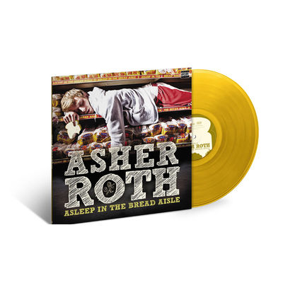 Asher Roth: Asleep In The Bread Aisle: Exclusive Transparent Gold Vinyl