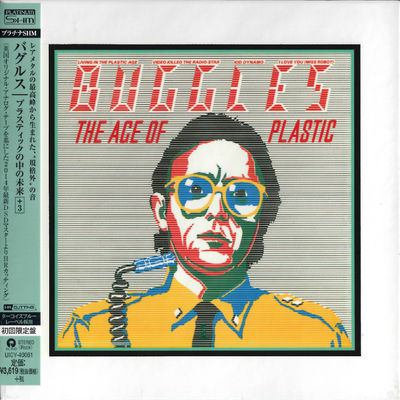 The Buggles: The Age Of Plastic: Platinum SHM
