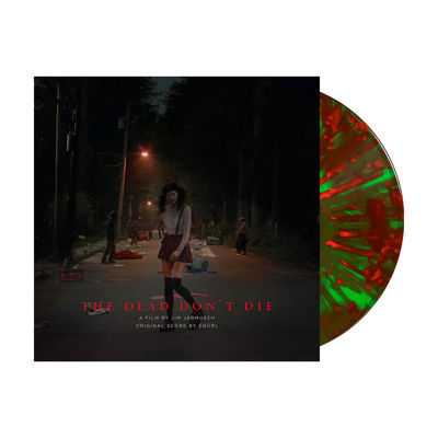 SQÜRL: The Dead Don't Die Original Score: Limited Edition Red and Green Splatter Vinyl