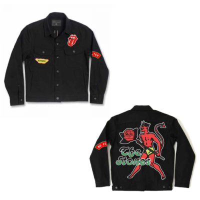 The Rolling Stones: Sympathy Black Denim Jacket
