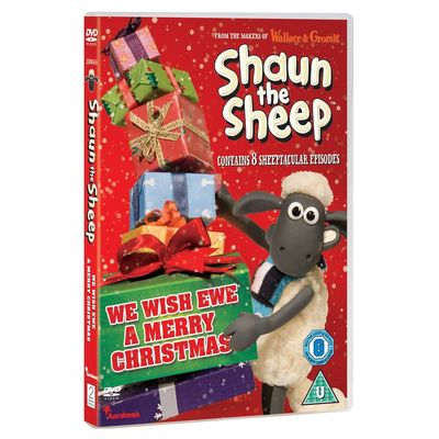 Shaun the Sheep: We Wish Ewe A Merry Christmas DVD