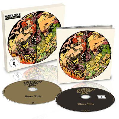 Blues Pills: Lady In Gold: Ltd Edition CD/DVD Digipack + Signed Insert