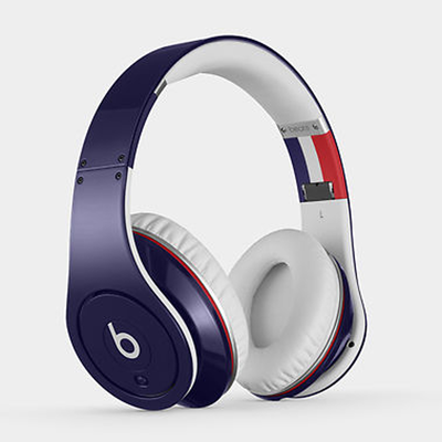 Beats: Studio On-Ear Headphones - Blue France Flag Edition