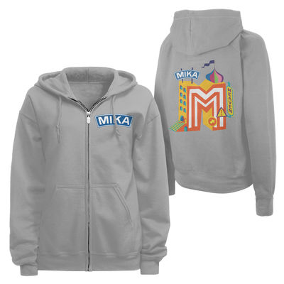 MIKA: 2015 Tour Range No Place In Heaven Hoodie