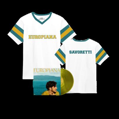 Jack Savoretti: Europiana Vinyl & Jersey