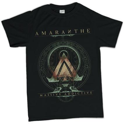Amaranthe: Amaranthe Black T-Shirt