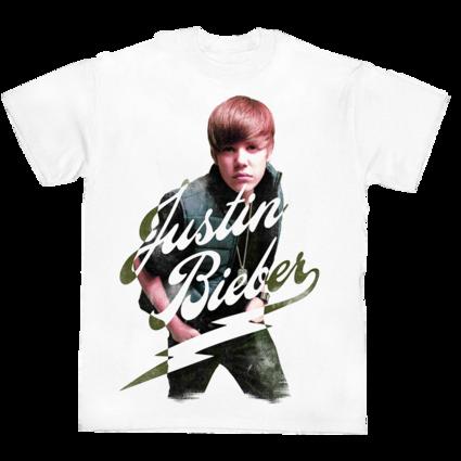 Justin Bieber: JUSTIN BIEBER PHOTO T-SHIRT