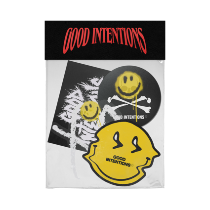 Nav: GOOD INTENTIONS STICKER PACK + DIGITAL ALBUM