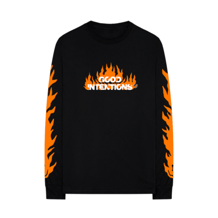Nav: FLAMES LONGSLEEVE + DIGITAL ALBUM
