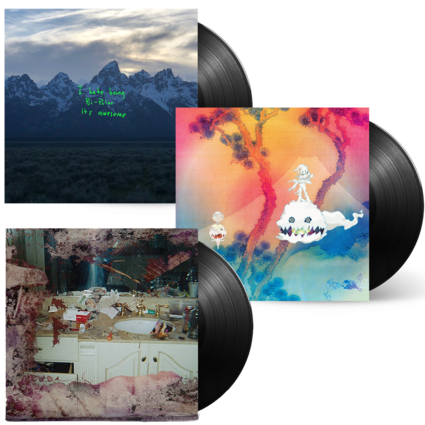 Kids See Ghosts: Project Wyoming Vinyl Bundle