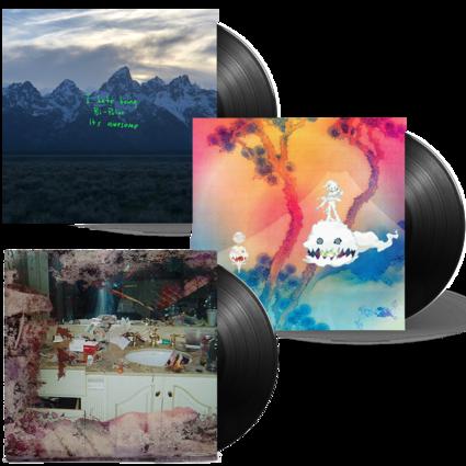 Kids See Ghosts: Project Wyoming Vinyl Bundle
