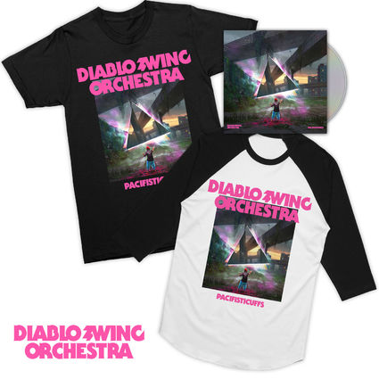 Diablo Swing Orchestra: Pacifisticuffs CD & 2 x Tee Bundle
