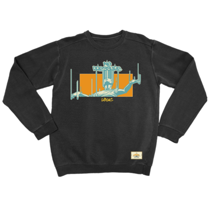 Logic: NO PRESSURE LIMITED EDITION CREWNECK
