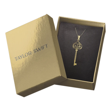 Taylor Swift: capture it, remember it vault key necklace