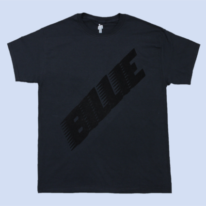 Billie Eilish: BLACK BILLIE TEE