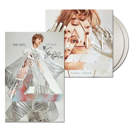 Serena Ryder: Utopia White Vinyl + Signed Litho