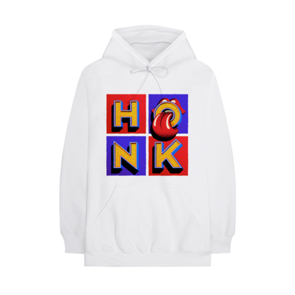 The Rolling Stones: Honk White Album Hoodie