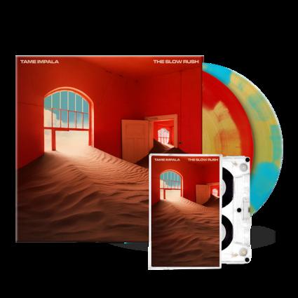 Tame Impala: The Slow Rush Exclusive 2LP Vinyl + Cassette