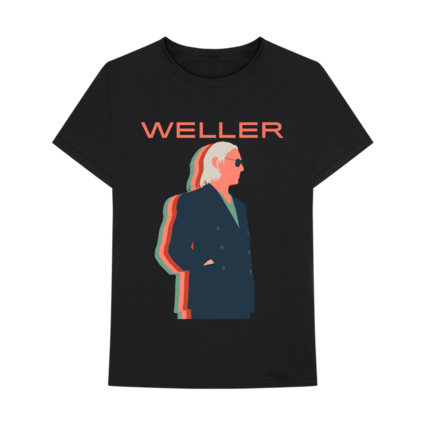 Paul Weller: Graphic T-Shirt - Black
