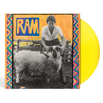 Paul and Linda McCartney: Ram (Yellow Vinyl)