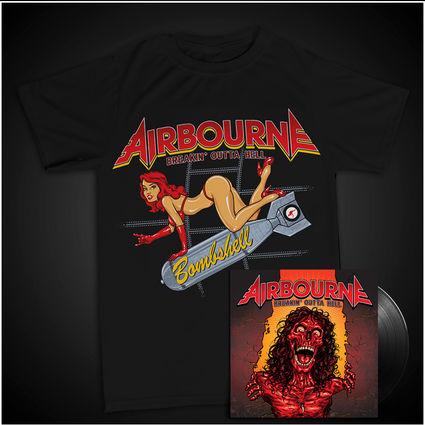 Airbourne: Bombshell T-Shirt & Vinyl