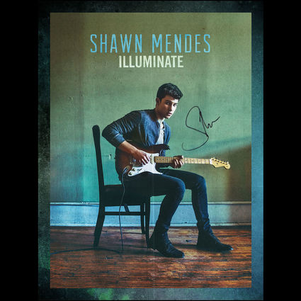 Shawn Mendes: Signed Illuminate Poster
