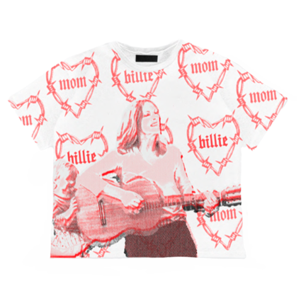 Billie Eilish: Mom <3 T-Shirt