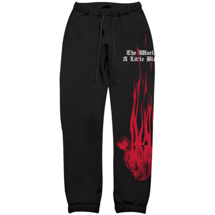 Billie Eilish: Blohsh Widow Sweatpants