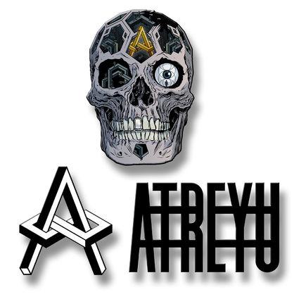Atreyu: In Our Wake 3 Enamel Pin Badge Set