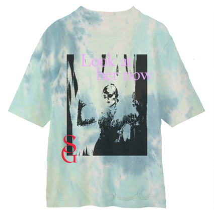 Selena Gomez : Look At Her Now Tie Dye T-Shirt