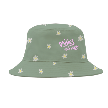 Katy Perry: Daisies Bucket Hat Green