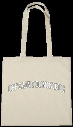 renforshort: off saint dominique natural tote