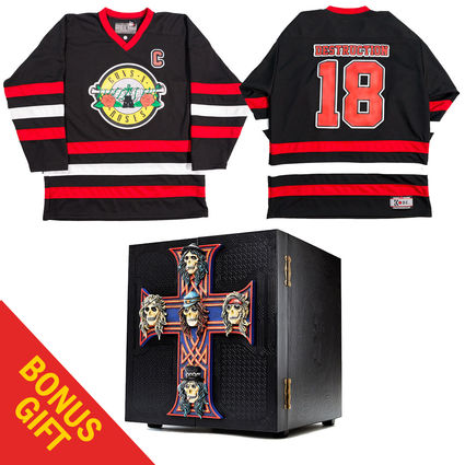 Guns N' Roses: Appetite For Destruction - Locked N' Loaded Edition + GNR Seal Jersey