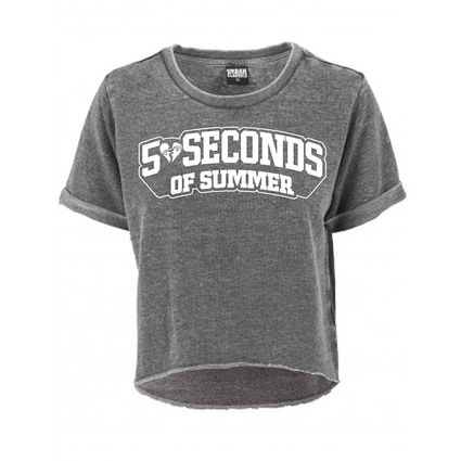 5 Seconds of Summer: Collegiate Logo Top