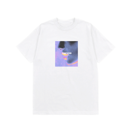 Ariana Grande: THERMAL FACE T-SHIRT