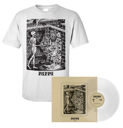 Puppy: Vinyl & T-Shirt Bundle