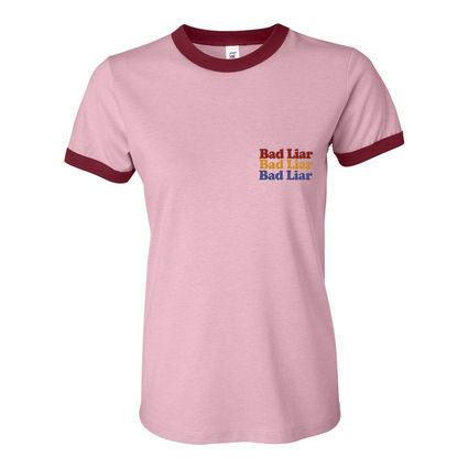 Selena Gomez : Bad Liar Pink T-Shirt