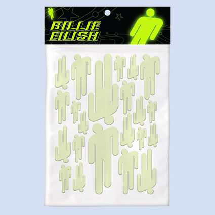 Billie Eilish: Glow Blohsh Ceiling Stickers