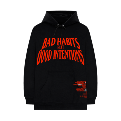 Nav: VLONE Bad Habits Black Hoodie