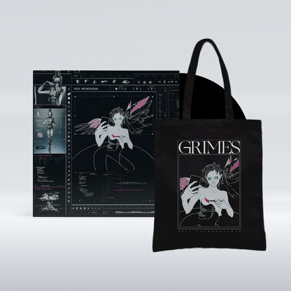 Grimes: Miss Anthropocene LP + Exclusive Tote Bag