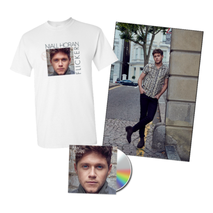 Niall Horan: Flicker CD, Poster + Album Tee